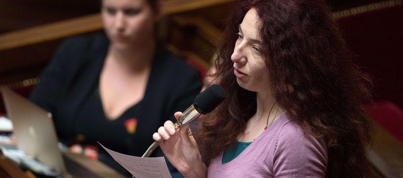La députée LFI de la première circonscription de l'Ariège, Bénédicte Taurine.