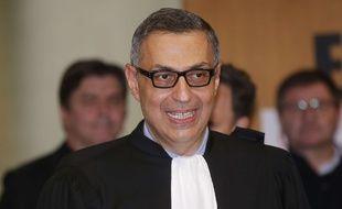 Ardalan Amir-Aslani, avocat de Laeticia Hallyday, le 15 mars 2018 au tribunal de Nanterre