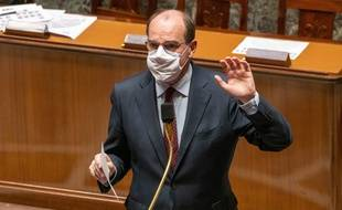 Jean Castex, le 24 novembre 2020 à l'Assemblée nationale.