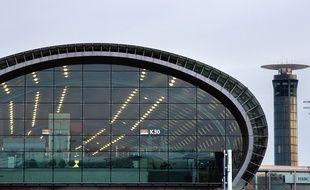 L'aéroport Roissy CDG près de Paris.