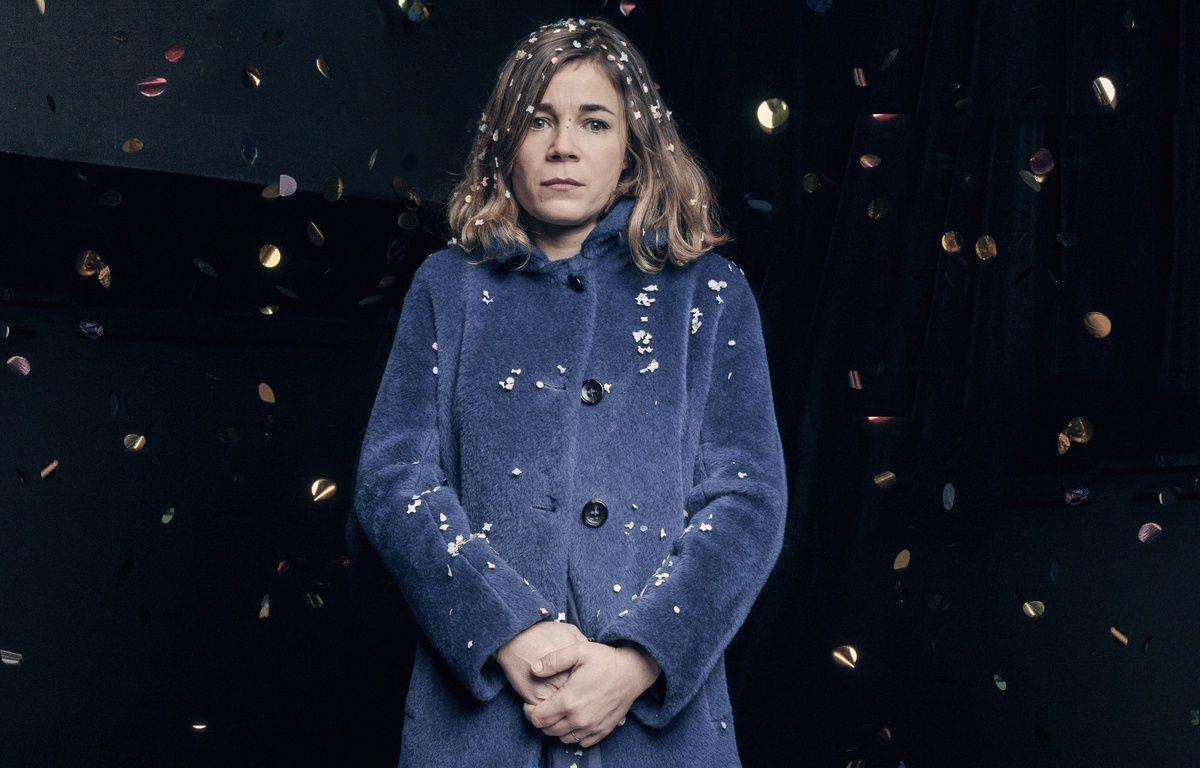 Blanche Gardin, à l'affiche de «Je parle toute seule» jusqu'au 26 juin 2016 à la Nouvelle Seine, à Paris. –  JF Robert