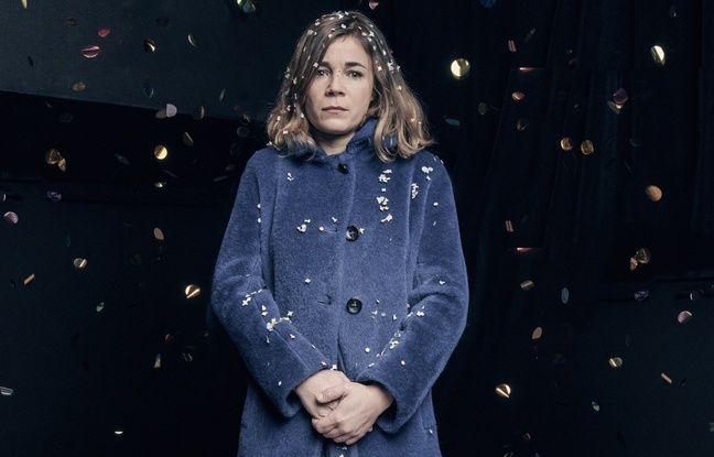 Blanche Gardin, à l'affiche de «Je parle toute seule» jusqu'au 26 juin 2016 à la Nouvelle Seine, à Paris.