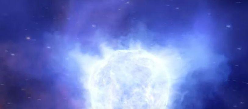Des astronomes ne retrouvent plus une étoile massive de la galaxie naine de Kinman.