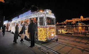 Le marché de Noël s'installe ce week-end sur la place Vorosmarty.
