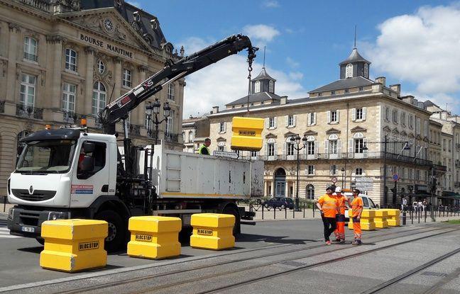 Installation de Blocstops à Bordeaux.