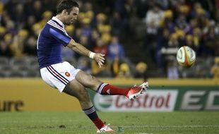 Morgan Parra lors du match entre la France et l'Australie le 14 juin 2014.