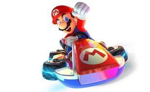 Illustration de Mario Kart.