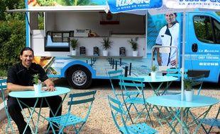 Ex-candidat de Koh-Lanta, Teheiura ouvre un food-truck.
