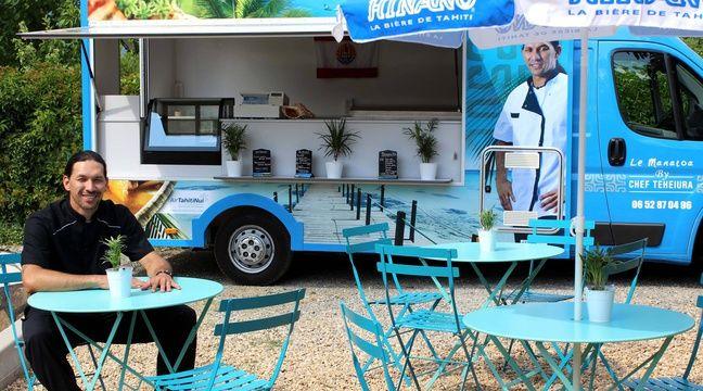 Ex-candidat de Koh-Lanta, Teheiura ouvre un food-truck. – chefteheiura.com
