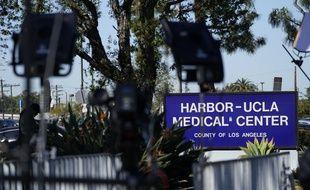 L'hôpital Harbor-UCLA, à Los Angeles, où TIger Woods a été opéré à la suite de son accident le 23 février 2021.