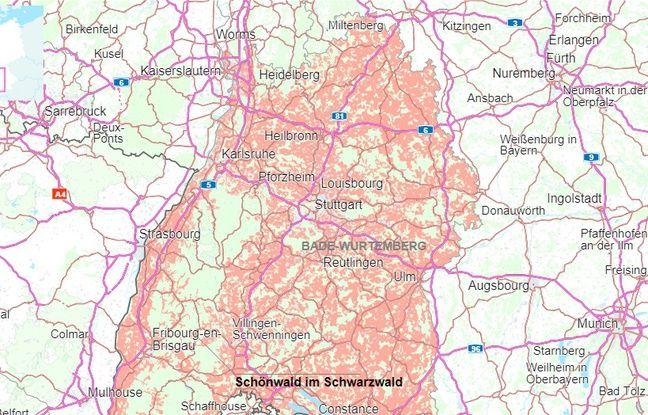 Schönwald, Forêt Noire (Allemagne)
