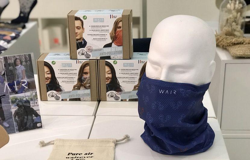 masque anti pollution anti microbes