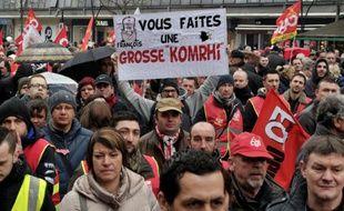 Manifestation contre la loi travail le 31 mars 2016 à Valenciennes