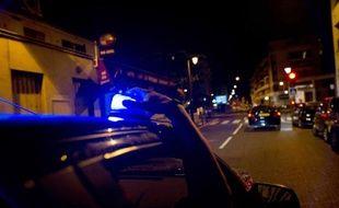 Des policiers de la BAC en intervention de nuit