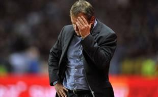 Frédéric Hantz, l'entraîneur de Montpellier, a été suspendu deux matchs ferme pour avoir critiqué l'arbitrage face à Lyon le 21 septembre 2016.