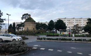 L'enlèvement s'est produit place Vincent-Auriol, à l'entrée des Dervallières.