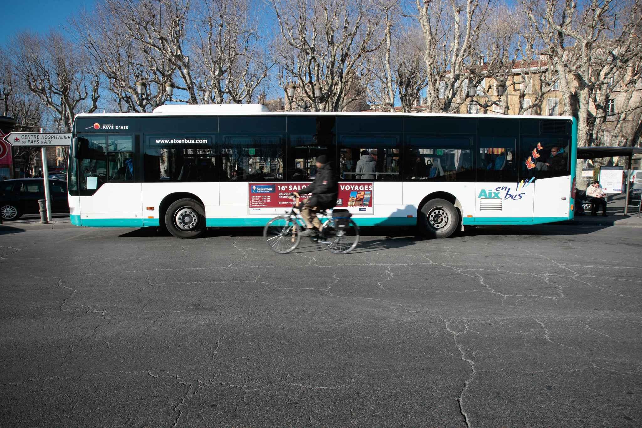 Aix en provence gr ve sur le r seau aix en bus - Aix en provence salon de provence bus ...