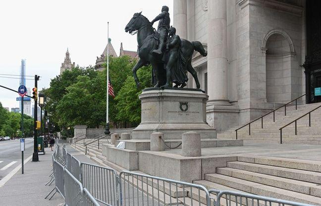 Etats-Unis : New York va enlever une statue de l'ancien président Theodore Roosevelt