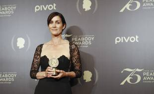 L'actrice Carrie-Anne Moss