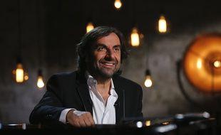 André Manoukian sur le plateau de