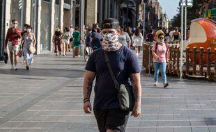 Le port du masque est obligatoire dans l'ensemble de la ville de Toulouse.