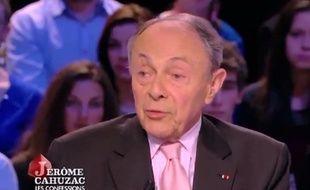 Michel Rocard était l'invité du «Grand journal» sur Canal+ ce mardi.