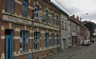 Le centre multimédia Georges Brassens, à Douvrin.