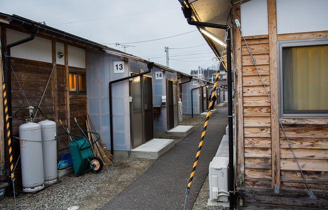 Un centre d'hébergement temporaire à Fukushima, le 5 mars 2016.