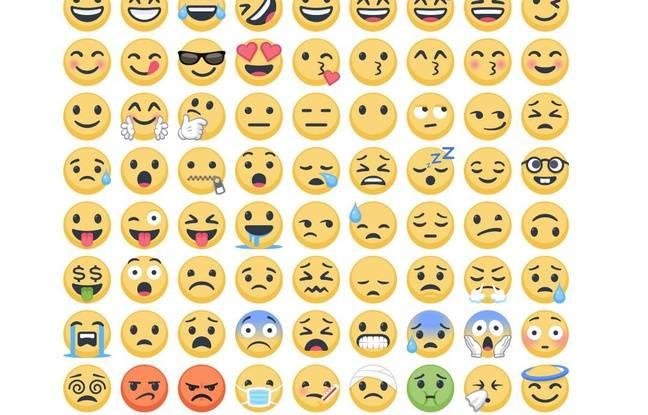Plus d un millier de nouvelles mojis sur facebook pour - Smiley a imprimer gratuit ...