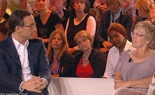 Capture d'écran de l'émission «Réunion de Famille», sur France 2