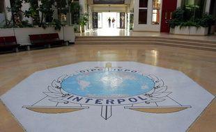 Au siège d'Interpol à Lyon le 16 octobre 2007.