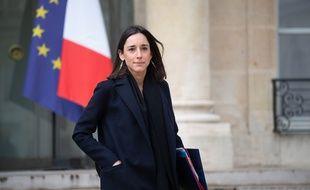 Brune Poirson, secrétaire d'Etat auprès du ministre de la Transition écologique et solidaire, au palais de l'Elysée, le 9 janvier 2019.
