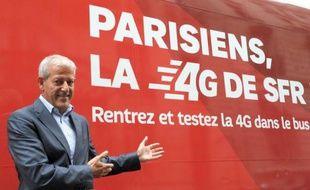 L'opérateur français SFR a dévoilé lundi les tarifs qu'il appliquera à ses offres mobiles 4G, avec une réduction pour les abonnements pris avant la fin de l'année, en insistant sur la riche offre de contenus qui les accompagnent.