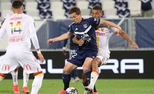 De Préville, l'attaquant des Girondins.