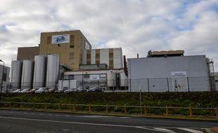 L'usine Celia du groupe Lactalis à Craon où le lait contaminé a été retrouvé.
