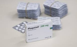 Hydroxychloroquine (Plaquenil) sulfate 200 mg, voie orale