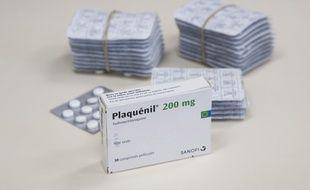 Hydroxychloroquine (Plaquénil) sulfate 200 mg, voie orale
