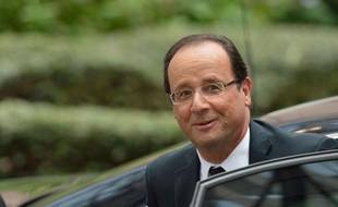 Le président français François Hollande a affirmé jeudi que le sommet européen devait être consacré à la construction d'une union bancaire, et non à l'union budgétaire réclamée par la chancelière allemande Angela Merkel.