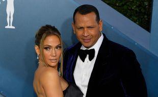 Les fiancés Jennifer Lopez et Alex Rodriguez