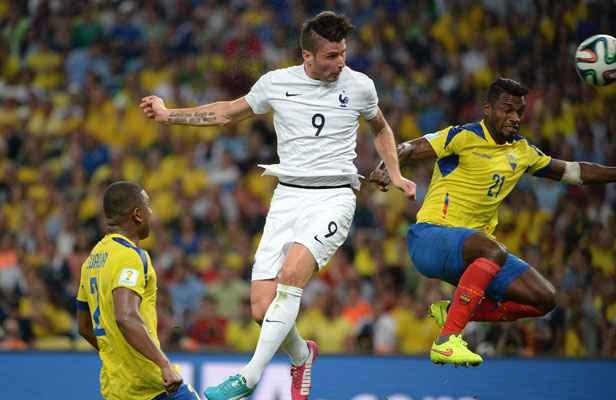 Coupe du monde 2014 record de paris en ligne pour france equateur - Record coupe du monde football ...