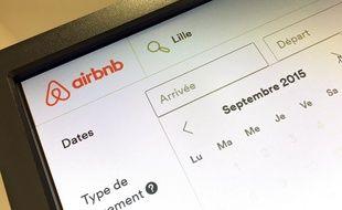 Illustration sur le site de partage de logements AirBnB.