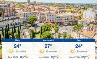 Météo Montpellier: Prévisions du samedi 24 août 2019