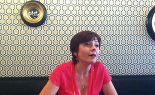 Carole Delga, tête de liste PS aux régionales Midi-Pyrénées/Languedoc-Roussillon.