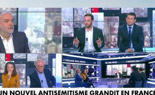 Extrait de «L'heure des pros», l'émission de Pascal Praud, sur CNews