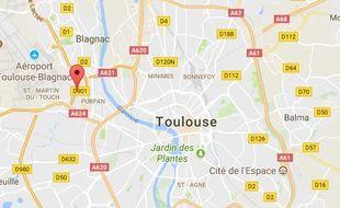 L'accident mortel s'est produit mardi en fin de matinée à l'ouest de Toulouse.