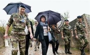 Martine Aubry présentait aujourd'hui le projet en visitant le site de la Citadelle.