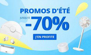 Profitez jusqu'à 70% de réduction sur les produits high tech pour les promos d'été AliExpress