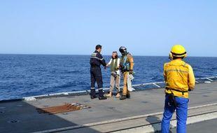 Une photo diffusée par la marine d'Evelyne Colombo, attaquée avec son mari par des pirates somaliens en 2011.