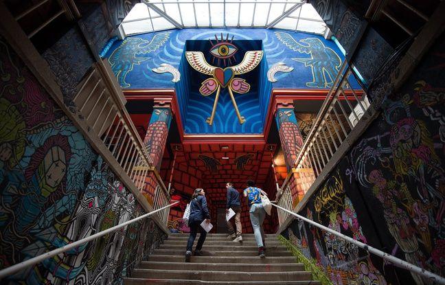 L'exposition «Entrez libre» dans l'ancienne maison d'arrêt de Nantes. (1er juillet au 27 août 2017)