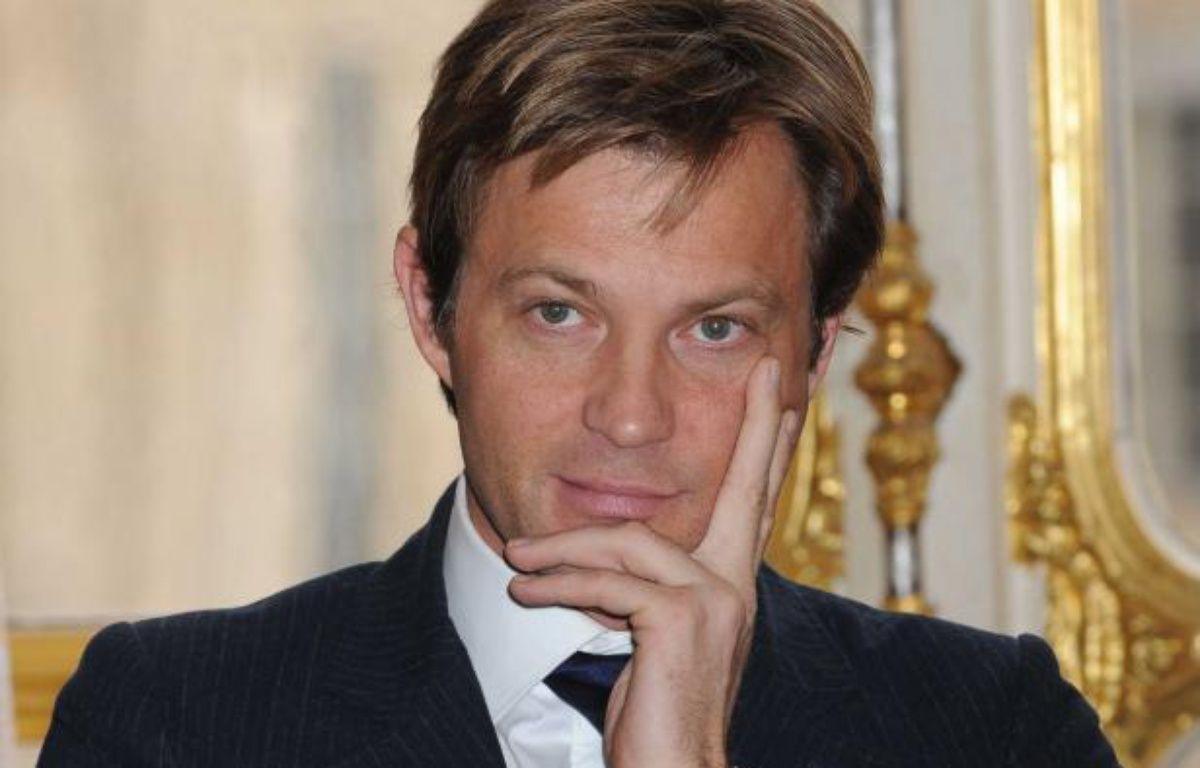 Laurent Delahousse le 8 février 2010. – LYDIE/SIPA